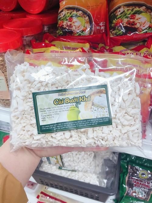 Cùi Bưởi Khô-Dried Pomelo Peel (+-100g)