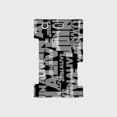 (通販限定)【送料無料】Xperia XZ1 Compact(SO-02K)_スマホケース ランダム_ブラック