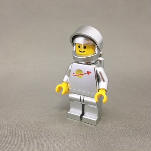 LEGO レゴ スペースマン・シルバー(ハンドメイド)