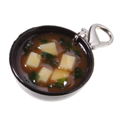 [0148]食品サンプル屋さんのファスナーフック(味噌汁:赤)