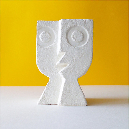 Peter Slight ceramics Medium Head SPLIT LEVEL / MH01