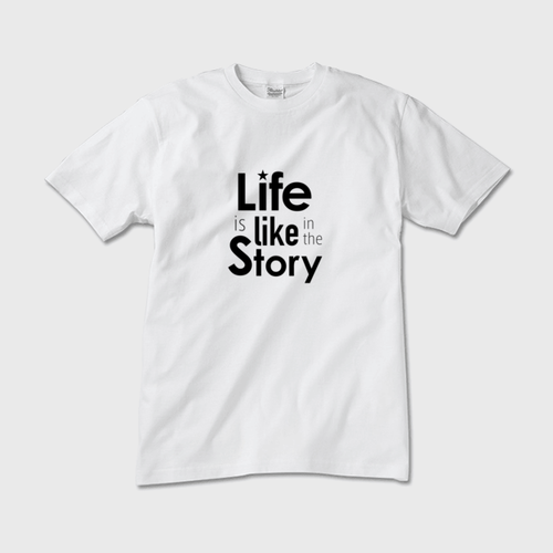 Life is like in the story~人生は物語のようだ(白×黒)~【メンズ】