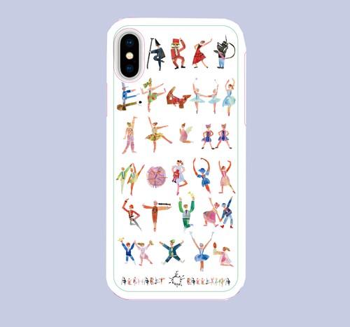 【オーダー品】iphoneX ソフトケース白
