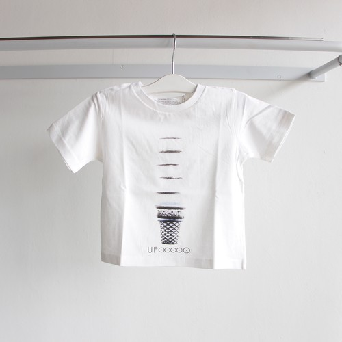 《WONDER FULL LIFE 》STAR TRAIL T-SHIRTS / UFOOOOO / white / 100・120・140
