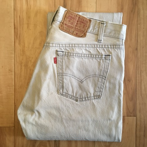 "Levi's 501  W31 inch ""MADE IN USA"" <Bleached>"