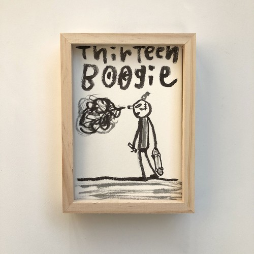 """THIRTEEN BOOGIE"" Diskah art works"