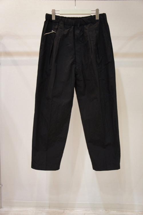 Suit Wide Trousers -BLACK- / YOKO SAKAMOTO