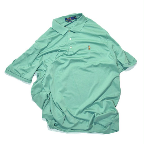 New OR mint USED★☆ POLO RALPH LAUREN CLASSIC FIT カットソー生地 Polo Shirts