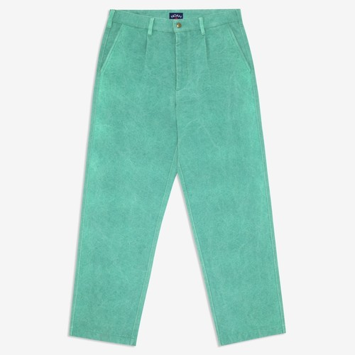 Recycled Canvas Work Pant(Emerald)