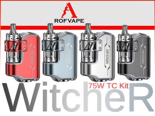 Witcher 75W TC MOD KIT by Rofvape