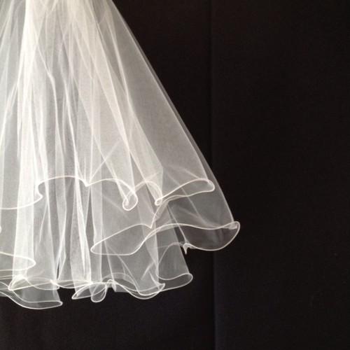 No.003-v    short veil