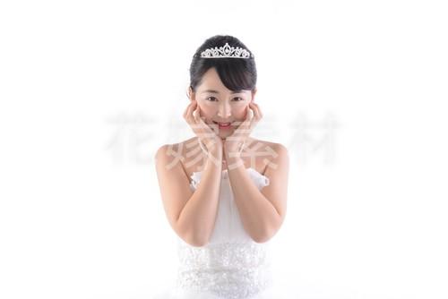 【0155】ポーズを取る花嫁