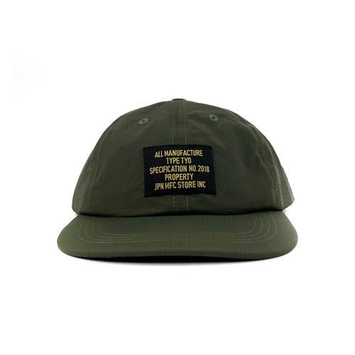 MFC STORE MIL TAG SUPPLEX RIP CAP / OLIVE