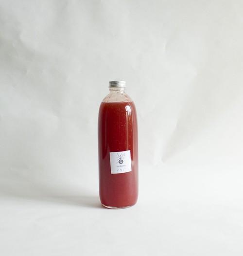 お得‼ かき氷★いちごシロップ・ソース 手作り 大分県臼杵産 (500ml)ギルトフリー 無添加 グルテンフリー