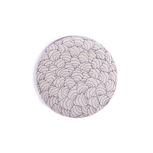 Coral Shell コーラル貝殻 正円プレート ラージ