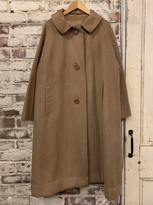 (LOOK) wool coat