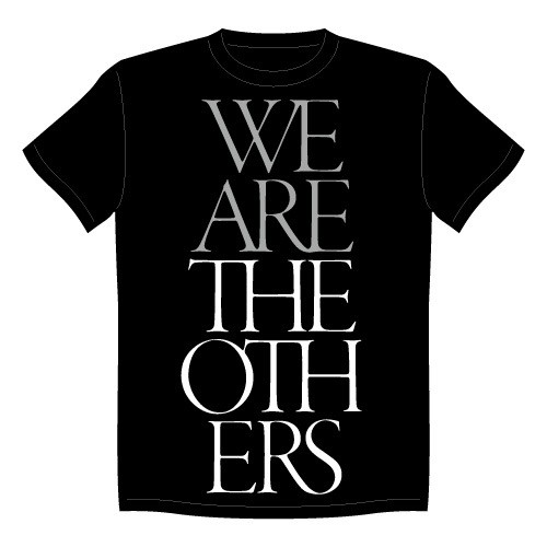 """WE ARE THE OTHERS TOUR"" T-SHIRTS Black"