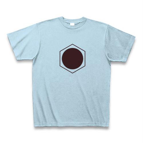 理系Tシャツ【ベンゼン環/丸/ライトブルー】-(Scien-T'st)Benzen/Circle/Light Blue