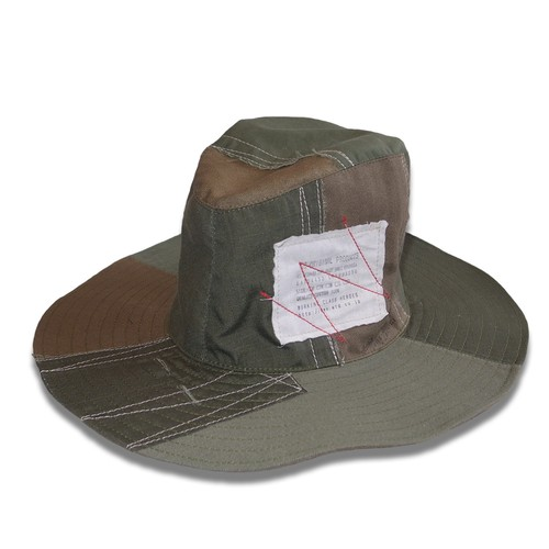 Working Class Heroes Bohemian Hat PW -Military Cloth