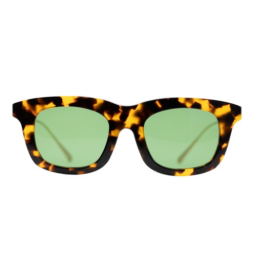 SUNGLASSES -HAVANA / GREEN-