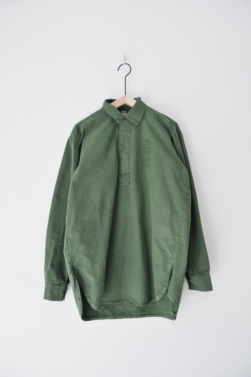 【USED】SWEDISH ARMY PULL OVER SHIRTS