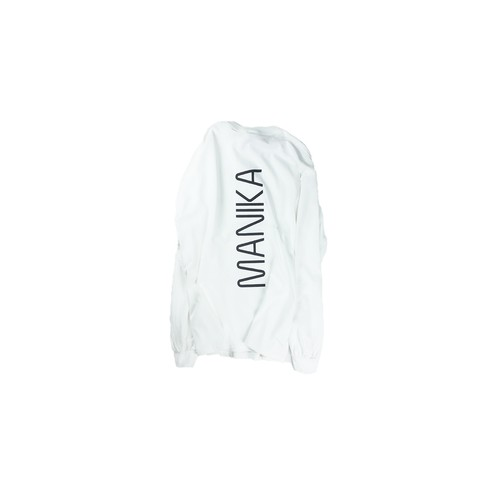 TATE-MANIKA Long Sleeve/WHITE