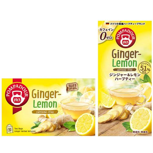 ポンパドール ジンジャー&レモン10p