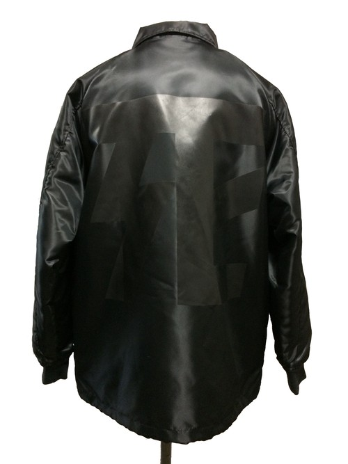 DEATH COLLABORATION COACH JACKET [ normal ver.]- BLACK -