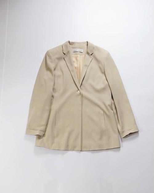 rayon beige jacket