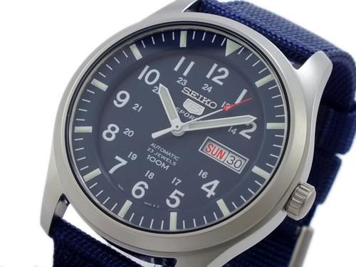 セイコー SEIKO セイコー5 スポーツ 5 SPORTS 自動巻き 腕時計 SNZG11K1 ネイビー