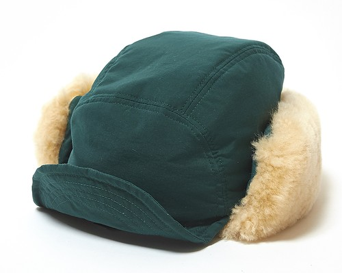 SHEEPSKIN BOA CAP - GREEN