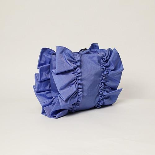 ナイロンフリルバック S(ブルー)