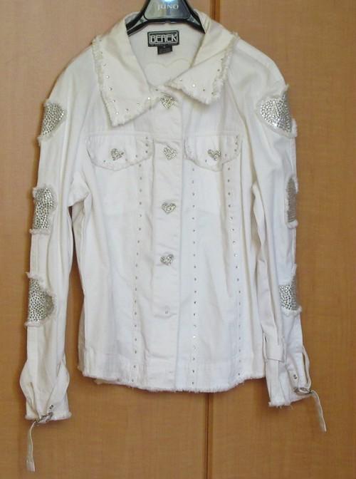 ジャケット 白 BEREK リセール商品