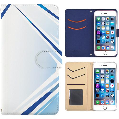 全機種対応 手帳型ケース iPhone Xperia Zenfone Aquos Galaxy Arrows Huawei Digno Raijin JDC258metal