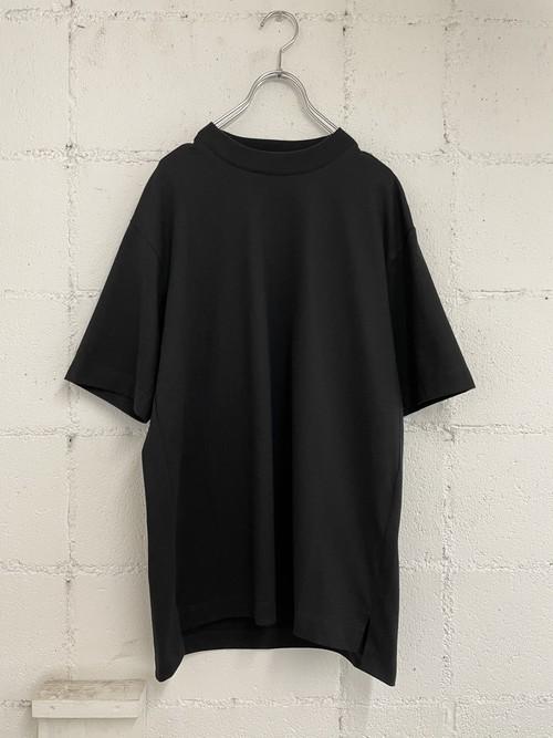 『VOAAOV』cotton jersey basic tee / BLACK