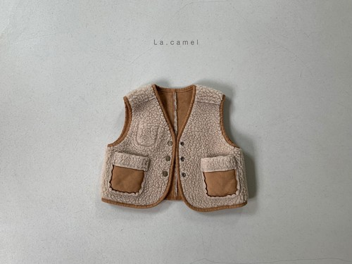 =sold out=mochi vest〈la camel〉
