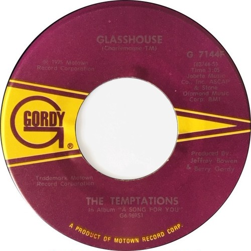 Temptations, ‎The – Glasshouse / The Prophet