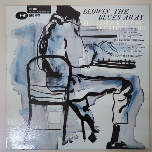 HORACE SILVER / BLOWIN THE BLUES AWAY 片47WEST63RD