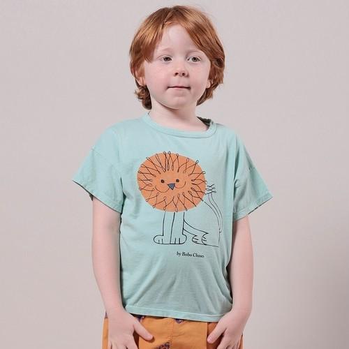 BOBOCHOSES Pet a Lion Short Sleeve T-shirt (4Y,6Y)