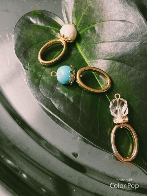 Bijou ring pierce/earring