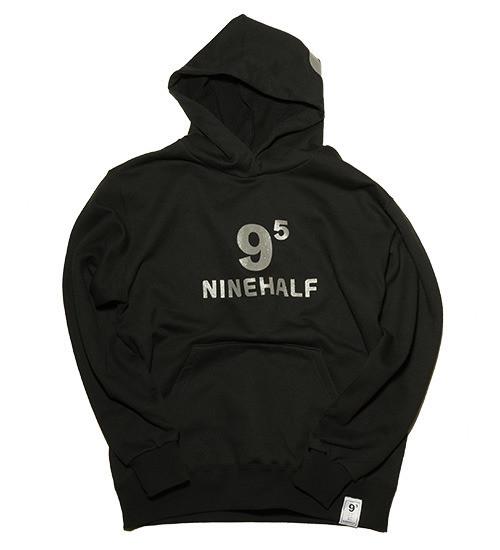 NINEHALF ロゴ パーカ