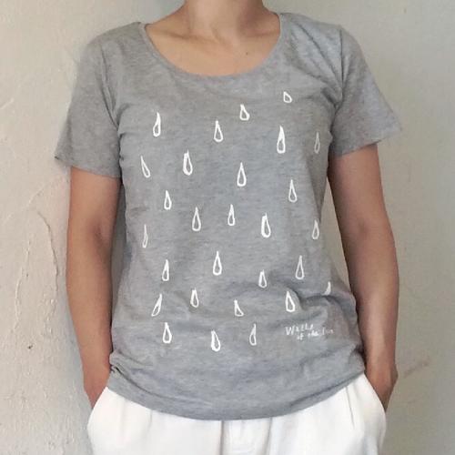 【送料無料】3色展開【Tシャツ】オリジナルデザイン「Raindrops」