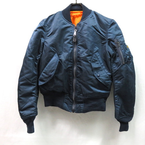ALPHA MA-1 MADE IN U.S.A DEAD STOCK (アルファ アメリカ製デッドストックMA-1) VINTAGE SAGE