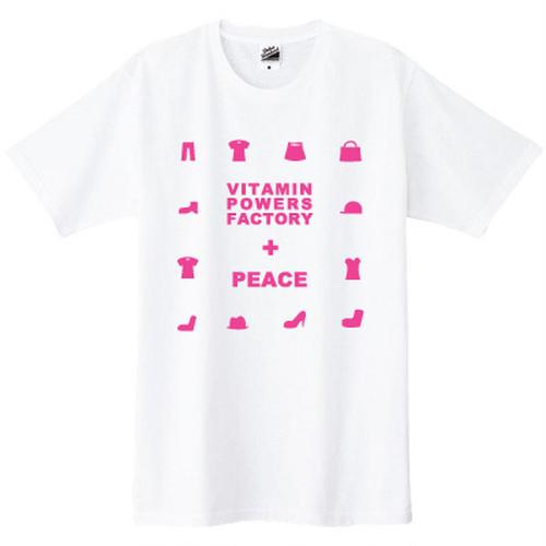 PEACE Tシャツ ホワイト