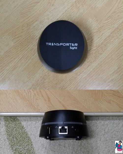 <Transporter Sync>です!