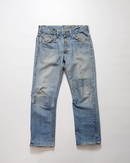 LEE damaged denim pants