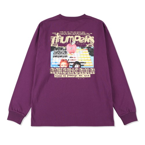 PSYCHEDELIC L/S TEE / THUMPERS
