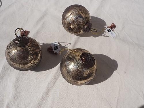 Hanging vintage ball