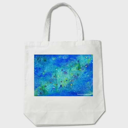 「銀河を想う」トートバッグ