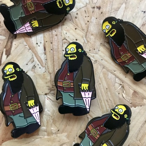 "THUMBS""Comic Book Guy x Harry Potter Pin Badge"""